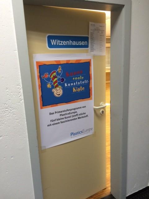 """Teilnehmerliste und Kuno-Plakat bei """"Technik zum Anfassen"""" in Witzenhausen"""