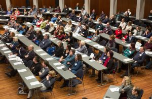 Gut besuchte Reihen beim VCI-Lehrerkongress in Freiburg