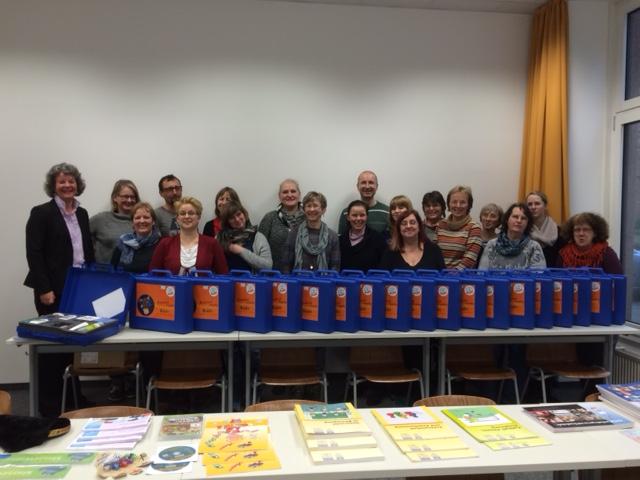 Lehrer bei der Kuno-Fortbildung an der FH Beuth, Berlin