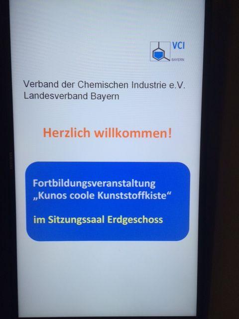 Ankündigung für die Kuno-Fortbildung in München