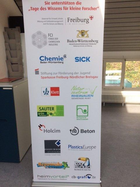 Die Partner aus Schule, Hochschule, Industrie und Handwerk zur Freiburger Bildungsveranstaltung