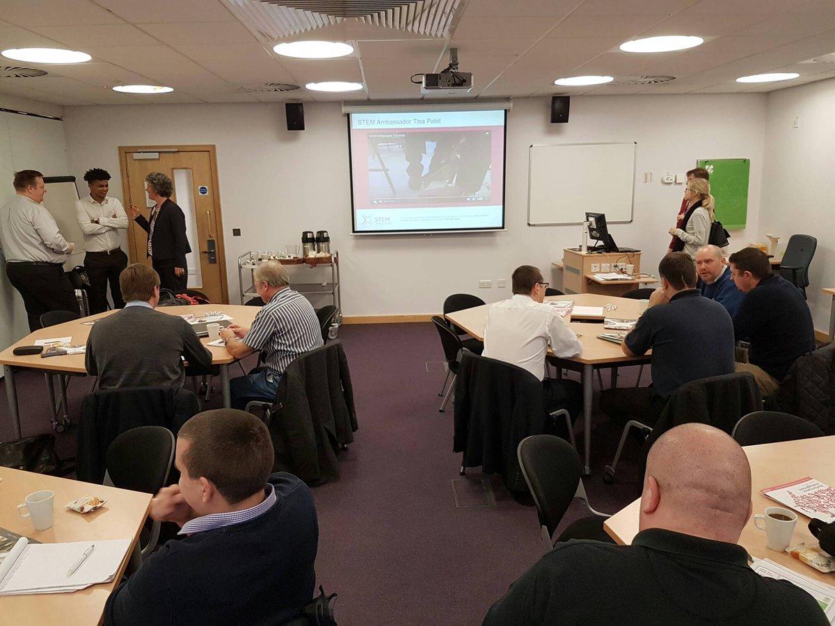"""MINT """"Ambassador""""-Seminar in York mit Olly und Kuno"""