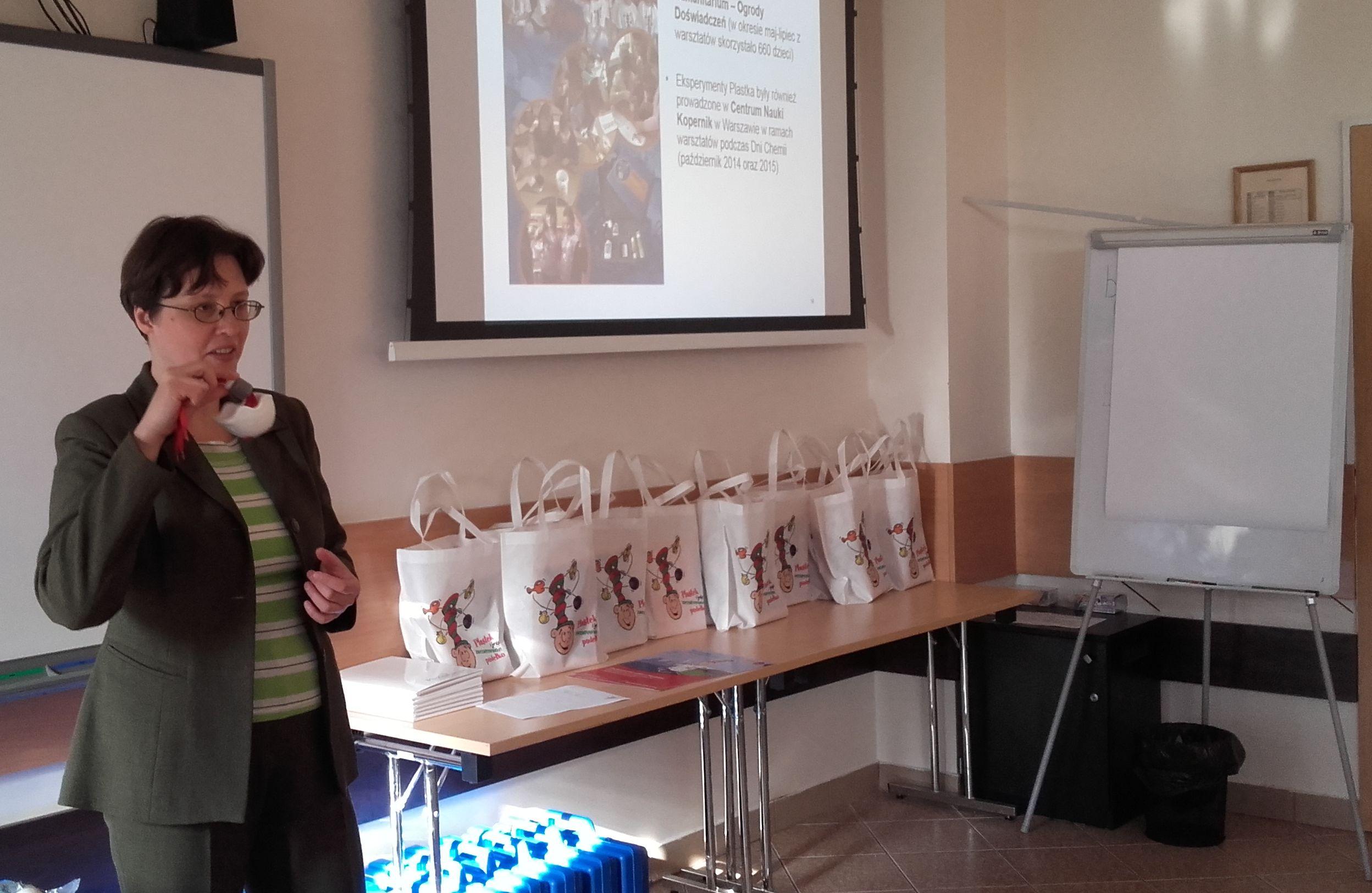 Edyta Wielgus-Barry schult Lehrkräfte in Kielce