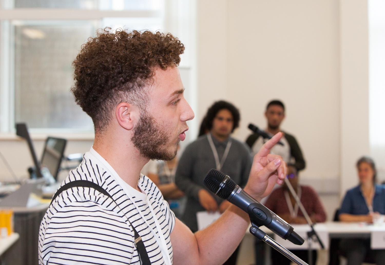 Londoner Jugenddebatte EYDC 2017