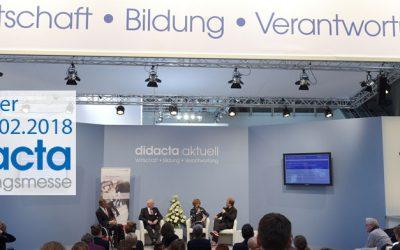 didacta 2018 in Hannover: Moderne Bildung auf dem Prüfstand