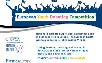 Im Dialog mit der Jugend: Europäische Debattenreihe zu Smart Cities, Kunststoff und Petrochemie